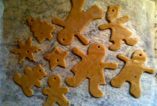 Gingerbread men - bonhomme pain d'épices