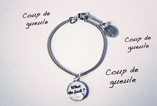 Bracelet what the fuck The French Factory