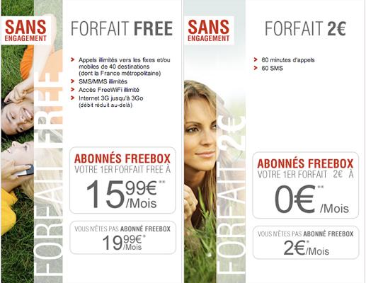 free forfait