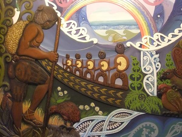 Fresque Maori 2