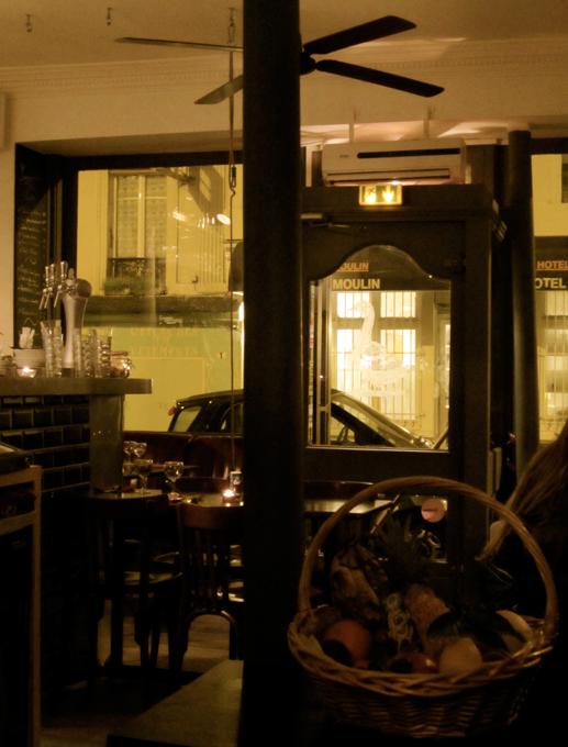 La Balançoire restaurant Paris