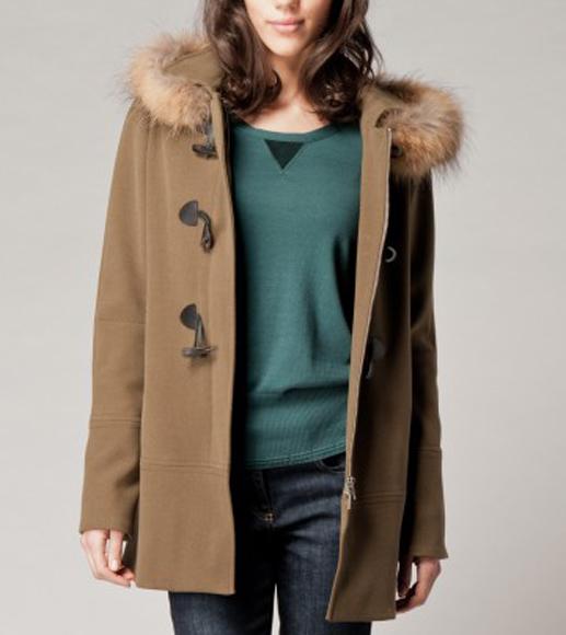 Super femme duffle coat capuche NK29